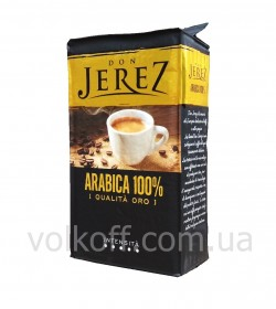 Кофе молотый Don Jerez Arabica 100% Qualita Oro 250гр