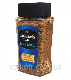Кофе растворимый Ambassador Blue Label 190гр