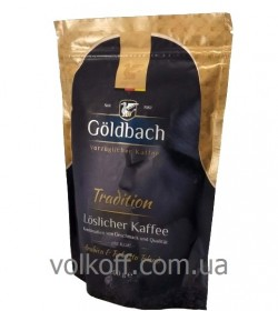Кофе растворимый Goldbach Tradition 200 гр пакет