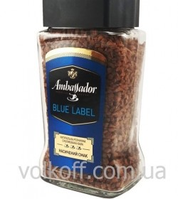 Кофе растворимый Ambassador Blue Label 95гр